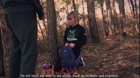 Охранник трахает русскую девушку на улице 365 порно