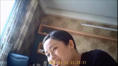Реальный минет азиатки