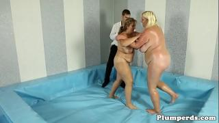 Ебля с победительницей на ринге